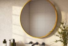 تصویر از راهنمای خرید آینه دستشویی