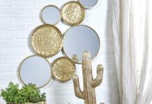 تصویر از 9 ایده خلاقانه برای آینه کاری دیوار