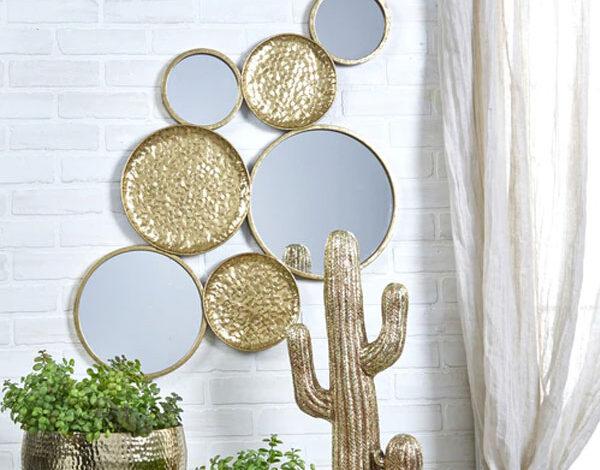 ایده خلاقانه برای آینه کاری دیوار