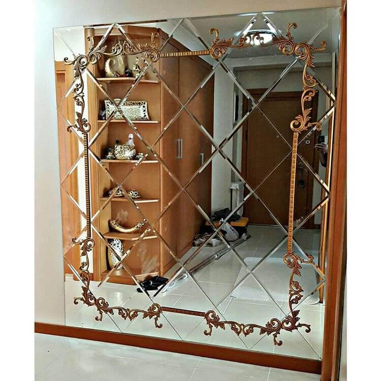 نمونه آینه دکوراتیو